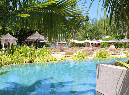 Kempinski Seychelles Resort Pool & Beach