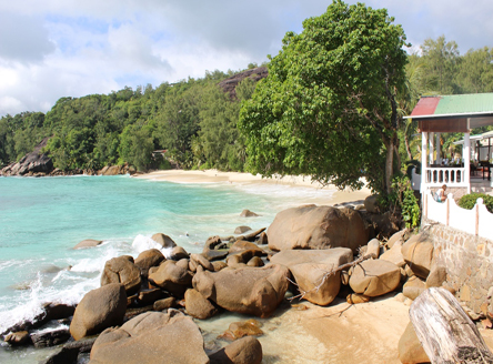 Anse Soleil Beachcomber small hotel in Seychelles