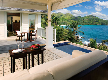 Pool Villa By-the-Rocks at Banyan Tree Seychelles