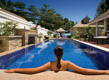 Luxurious Double-poll Villa at Banyan Tree Seychelles