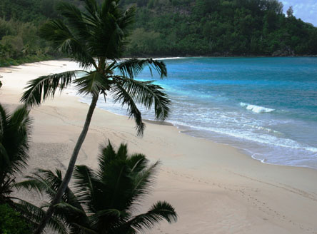 Anse Intendance Bay from Banyan Tree Seychelles