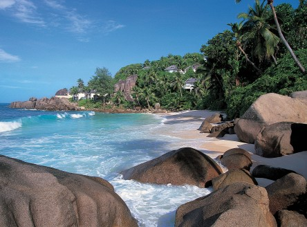The luxurious Banyan Tree Seychelles