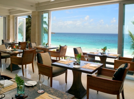 Restaurant at Banyan Tree Seychelles