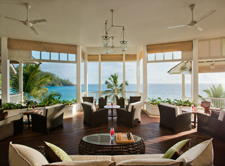 Le Varange restaurant at Banyan Tree Seychelles