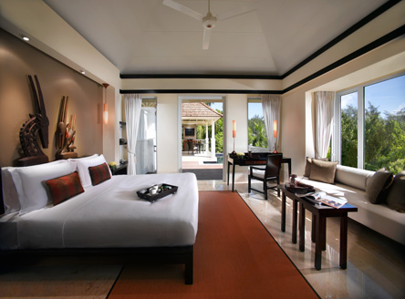 Banyan Tree Seychelles Master Bedroom