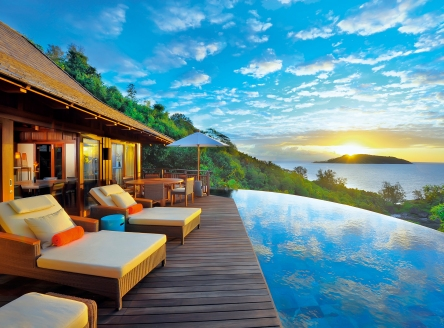 Stunning views at the Ephélia Resort