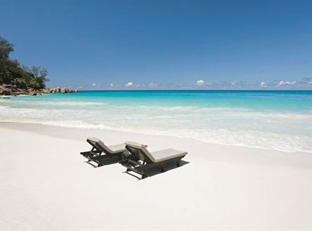 Enjoy three glorious white sand beaches at Constance Lemuria Seychelles