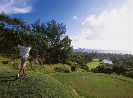 Golf in Seychelles at Constance Lemuria's stunning 18-hole course