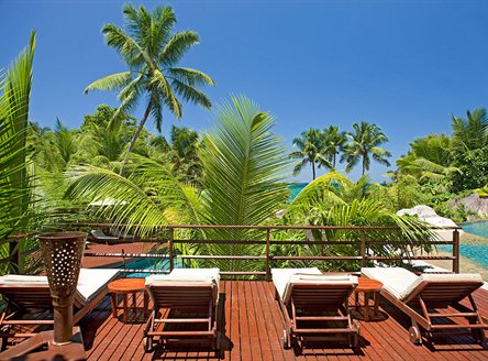 Relaxing is never difficult at Constance Lemuria Resort Seychelles!