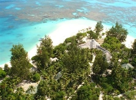Denis Private Island in Seychelles