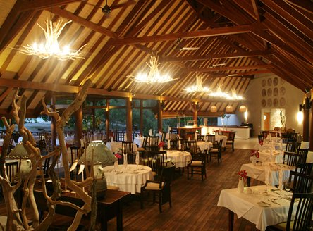 Denis Private Island is renowned for its 5* cuisine