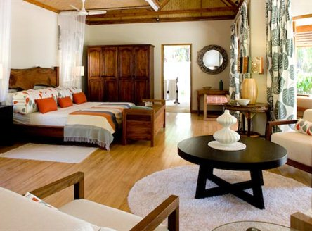 Spacious rooms on Denis Island