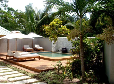 Denis Island also has a private pool villa