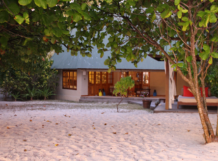 Your spacious cottage on Denis Island Seychelles