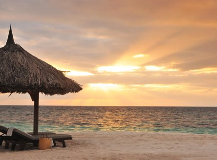 Desroches Island Resort - enjoy spectacular tropical sunsets