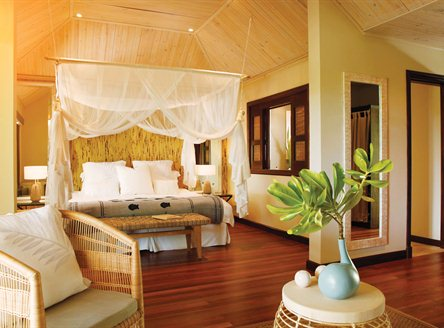 Beach Suite accommodation at Desroches Seychelles