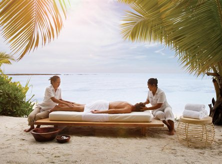 Experience fabulous spa treatments at Desroches Island in Seychelles