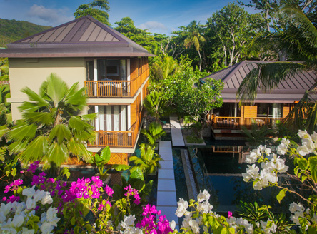 Dhevatara Beach Hotel Seychelles - luxury boutique hotel