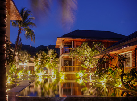 The romantic Dhevatara Beach Hotel only accepts children over 12 years
