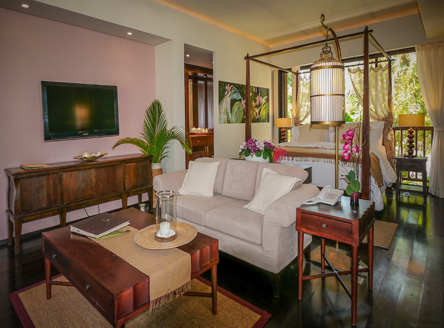 All Suites at Dhevatara Beach Hotel are individually designed