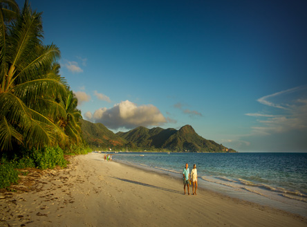 The gorgeous Grand Anse beach - just steps from Dhevatara hotel