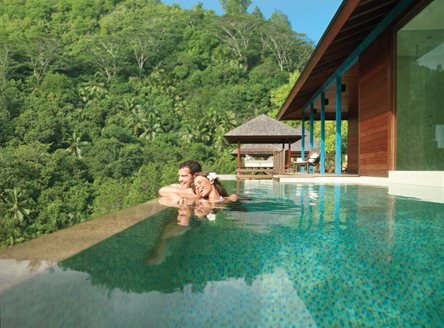 Four Seasons Seychelles - private infinity plunge pools