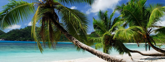 Unspoilt beaches of Seychelles
