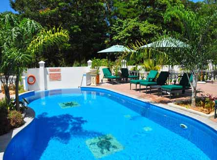 Fabulous pool at Hanneman Holiday Residence Seychelles