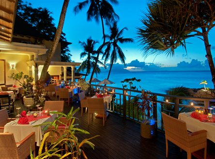 Fine dining at Hilton Seychelles Northolme