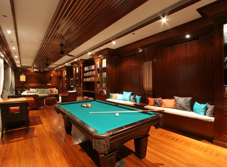 Games room at Hilton Seychelles Northolme