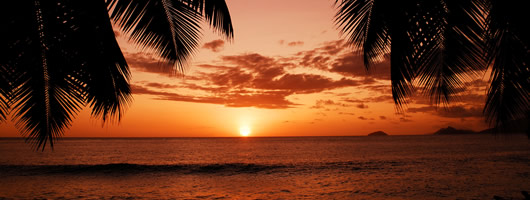 Holiday in Seychelles and enjoy breathtaking sunsets