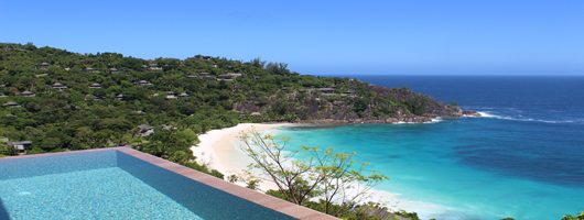 View from your luxury villa at Four Seasons Resort Seychelles