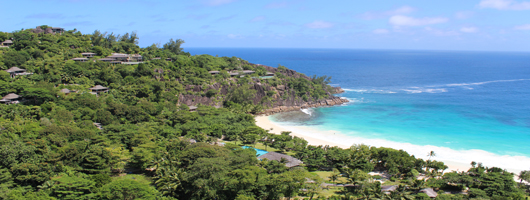 Four Seasons Resort Seychelles on Mahe's south-west coast