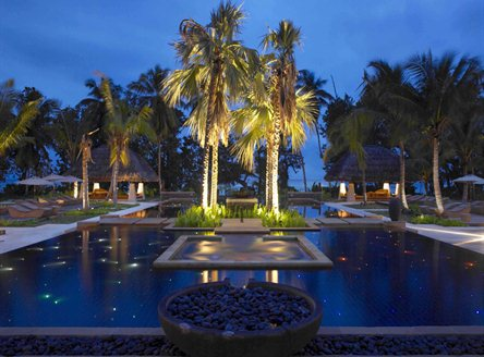 Labriz Seychelles has a large swimming pool