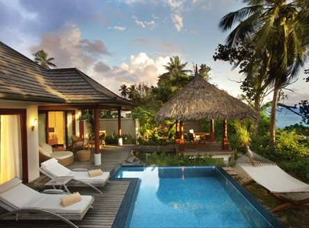 For added luxury choose a pool villa at Hilton Labriz