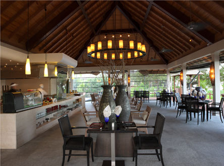 'Sakura' restaurant offers International flavours blending Asian & European cuisine at Labriz Resort & Spa Seychelles