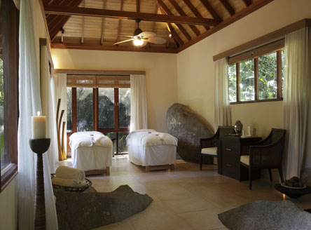 Spa room at Hilton Seychelles Labriz Resort & Spa