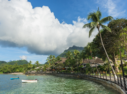 Le Meridien Fishermans Cove on Mahé Island Seychelles