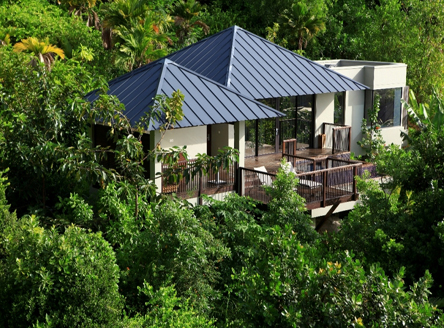 Raffles Seychelles - all villas have private pools