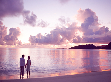 Raffles Seychelles - Romantic beach walks