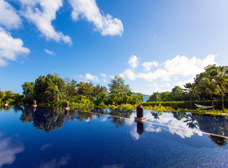Raffles Praslin Seychelles beautiful tropical gardens