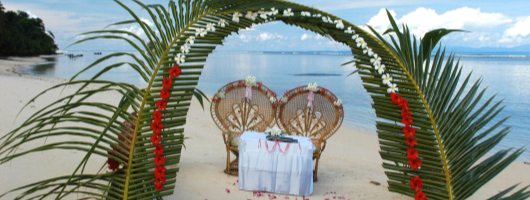 Seychelles wedding