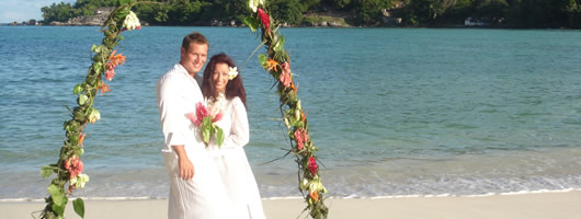 luxury tropical island wedding in Seychelles