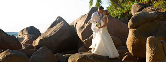 Romantic Seychelles wedding