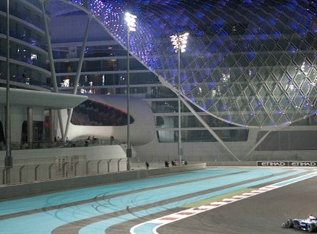 Formula 1 at Yas Viceroy Hotel