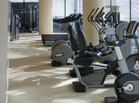 Gym at Yas Viceroy Hotel Abu Dhabi